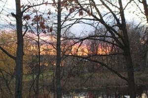 sunset_thains_river