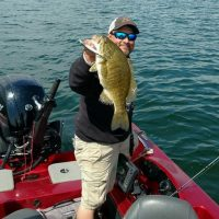 Mille Lacs Smallmouth Fishing