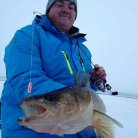 Ice fishing is in full force